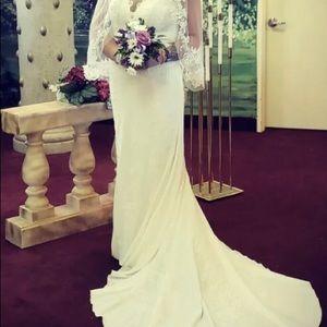 Morí lee wedding Dress